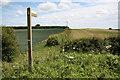 SK6987 : Footpath to Wildgoose Farm by Richard Croft