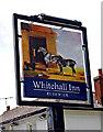 SO8253 : Whitehall Inn (2) - sign, Bransford Road, Rushwick by P L Chadwick