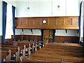 SJ3906 : Interior of Pontesbury Congregational Church facing East by Roy Haworth