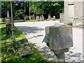 NS2683 : Sundial beside Rhu Parish Church by Lairich Rig