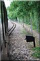TG2223 : Bure Valley Railway passing loop by Glen Denny
