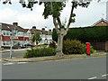 TQ5288 : Pillar box at the corner by Robin Webster