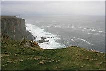 ND2076 : Cliffs, Dunnet Head by Paul E Smith