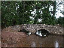 SS9843 : Gallox Bridge, Dunster by John Lord