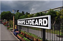 ST1628 : Bishops Lydeard Station Sign by Ashley Dace