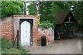 TG1927 : St Michael's Church, Aylsham - church yard gate by Glen Denny