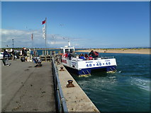 SZ1891 : Mudeford, ferry by Mike Faherty