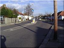 TQ2087 : Wood Lane Kingsbury by David Howard
