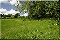TQ4014 : Greenwich Meridian NE of Over's Farm by steve ridley