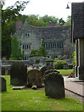 TQ3632 : The Manor House at West Hoathly seen from the churchyard by Shazz