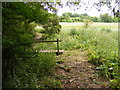 TM2356 : Footpath to Monewden Road by Adrian Cable