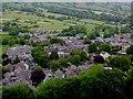 SK1582 : Castleton from Peveril Castle by Martin Speck