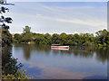 SJ9599 : Stamford Park Boating Lake by David Dixon