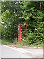 TM2558 : Hoo Telephone Box by Adrian Cable