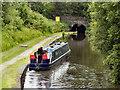 SD9701 : Narrowboat Below Lock 12W by David Dixon