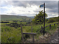 SE0008 : Stile and footpath to Harrop Dale by David Dixon