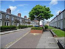 SU1484 : Reading Street, Swindon Railway Village by Marathon