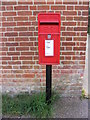 TM2866 : Post Office Laxfield Road Postbox by Adrian Cable