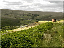 SE0210 : View from the Side of Pule Hill by David Dixon