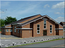 SO8690 : The Community Centre at Swindon, Staffordshire by Roger  Kidd