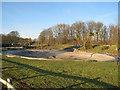 SU6756 : Drained ornamental pond by Sandy B