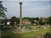 TQ1289 : Pinner: Paines Lane Cemetery by Nigel Cox