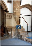 TL1589 : St Mary, Stilton - Pulpit by John Salmon