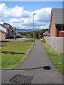NS2071 : Footpath at Hill Farm estate by Thomas Nugent