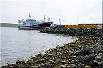 HU4642 : LK 62, MV Research, at Holmsgarth, Lerwick by Mike Pennington