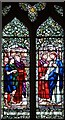 TF0904 : St Andrew, Ufford - Stained glass window by John Salmon