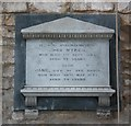TF1507 : St Andrew, Northborough - Wall monument by John Salmon