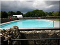 SP2304 : Filkins swimming pool by andrew auger