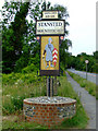 TL5126 : Stansted Mountfitchet village sign by Thomas Nugent