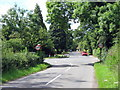 SP0174 : Barnt Green - Bittell Farm Road Junction With B4120, Bittell Road by Roy Hughes