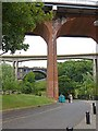 NZ2664 : Underneath the arches by Oliver Dixon