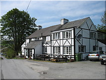 SN8694 : The Star Inn, Dylife by David Purchase