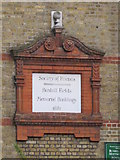 TQ3282 : Plaque on the Bunhill Fields Meeting House (Society of Friends), off Banner Street, EC1 by Mike Quinn