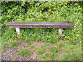 TG0624 : Bench next to Marriott's Way footpath by Adrian Cable