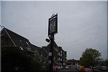 TQ4210 : The Dorset sign by N Chadwick