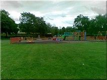 SP4441 : Play area off Longelandes Way, Ruscote by Alex McGregor