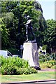 ST5773 : War memorial by the Victoria Rooms by Steve Daniels