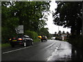 SJ8781 : Lees Lane looking towards roundabout by Peter Bond