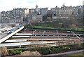 NT2573 : View from The Scott Monument - Waverley Station by N Chadwick