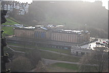 NT2573 : View from The Scott Monument  - The National Gallery by N Chadwick