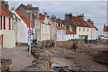 NO5402 : West shore, Pittenweem by Jim Barton
