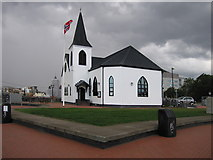 ST1974 : Norwegian Church, Cardiff Bay by Rudi Winter