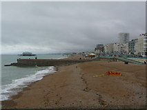 TQ3103 : Brighton: view west from the pier entrance by Chris Downer