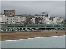 TQ3103 : Brighton: Marine Parade from the pier by Chris Downer