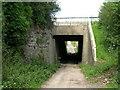 SE4922 : Motorway bridge over Leys Lane by JThomas