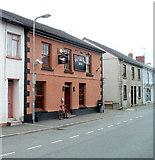 SN7634 : Greyhound Inn, Llandovery by Jaggery